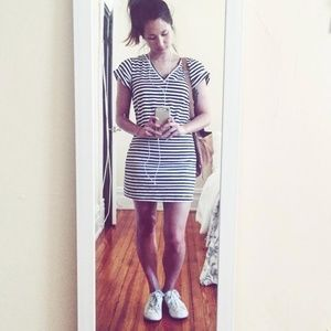 Kate Spade Saturday striped t-shirt dress
